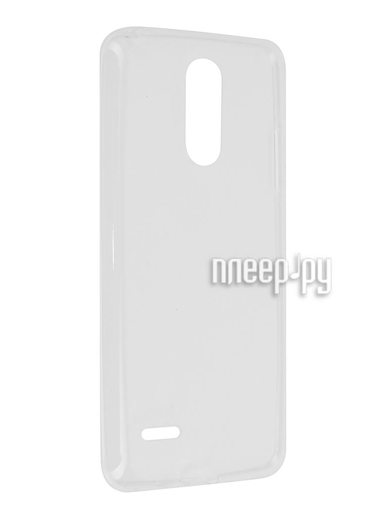 Аксессуар Чехол LG K8 2017 Svekla Transparent SV-LGK82017-WH за 554 рублей