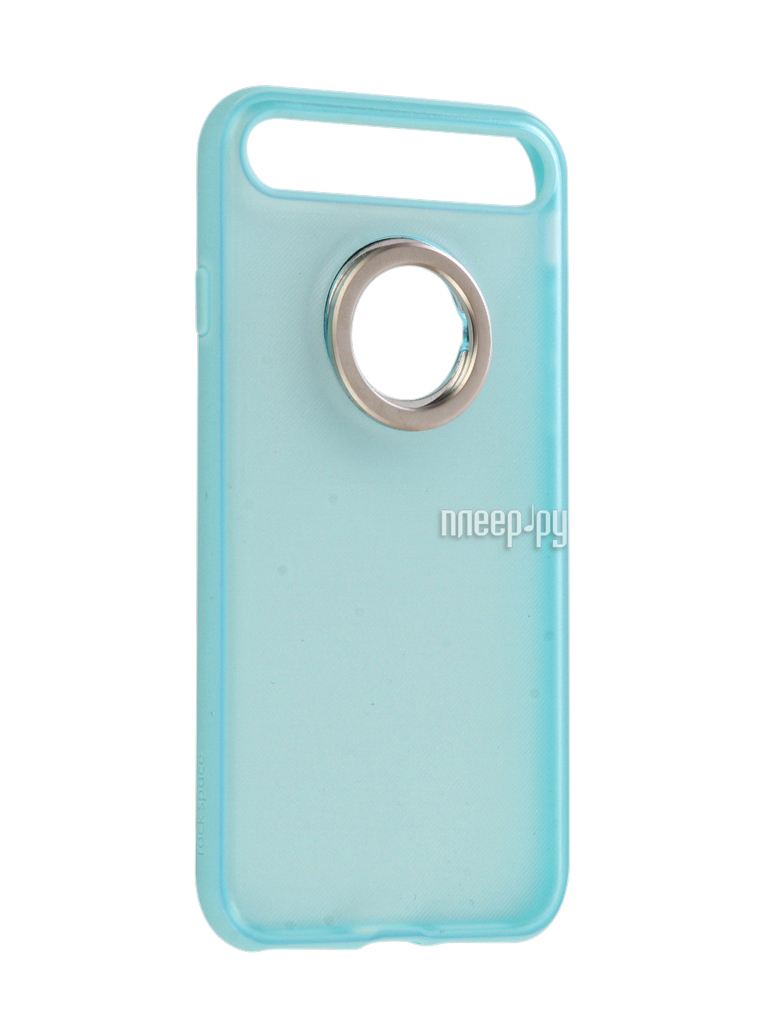 Аксессуар Чехол Rock Space Ring Holder для iPhone 7 Light-Blue 47536