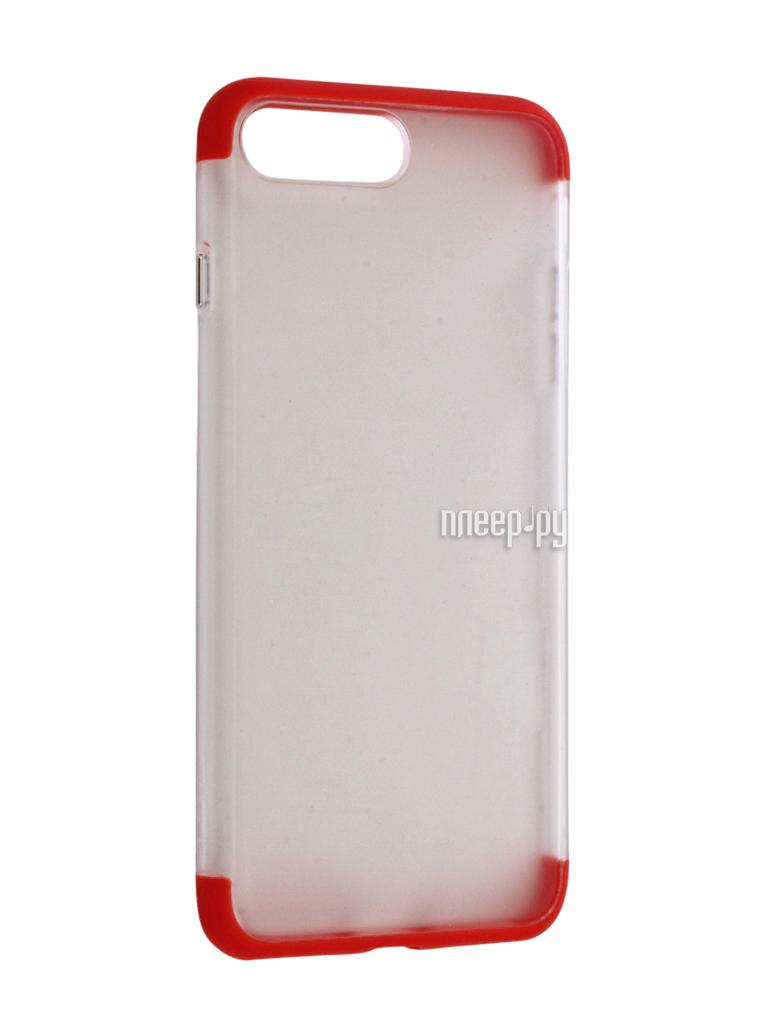 Аксессуар Чехол Rock Cheer для iPhone 7 Plus Red 47666