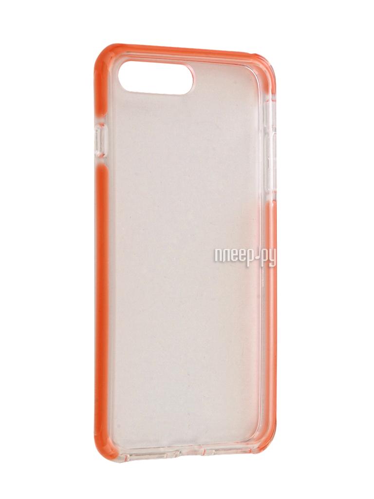 Аксессуар Чехол Rock Space Guard G2 для iPhone 7 Plus Transparent-Pink 47451