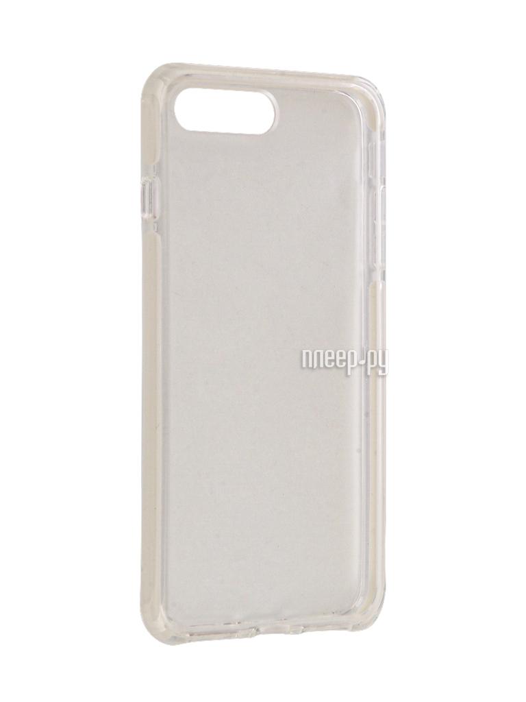Аксессуар Чехол Rock Space Guard G2 для iPhone 7 Plus Transparent-White 47475