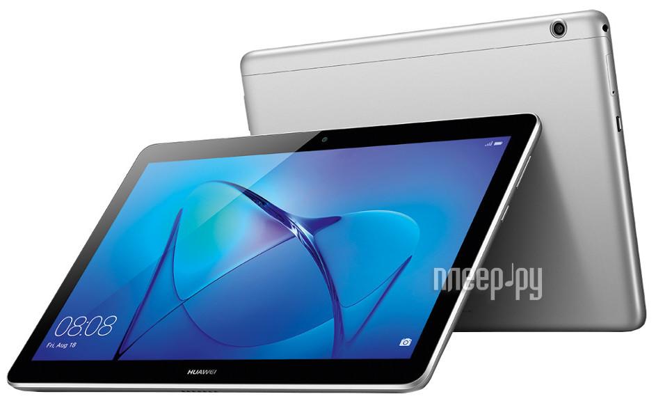 Планшет Huawei MediaPad T3 10 LTE 16Gb AGS-L09 Grey 53018522 (Qualcomm Snapdragon 425 1.4 GHz / 2048Mb / 16Gb / GPS / LTE / 3G / Wi-Fi / Bluetooth / Cam / 9.6 / 1280x800 / Android)