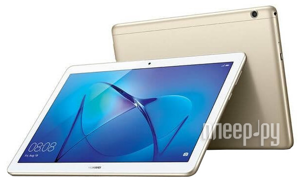 Huawei MediaPad T3 10 LTE 16Gb AGS-L09 Gold 53018545 (Qualcomm Snapdragon 425 1.4 GHz/2048Mb/16Gb/GPS/LTE/3G/Wi-Fi/Bluetooth/Cam/9.6/1280x800/Android)