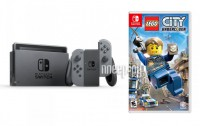 Игровая приставка Nintendo Switch Grey + LEGO City Undercover