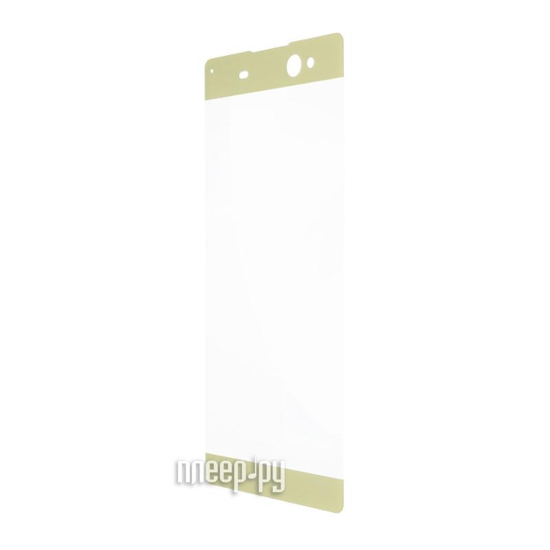 Аксессуар Защитное стекло Sony Xperia XA1 BROSCO 3D Gold XA1-3D-GLASS-GOLD