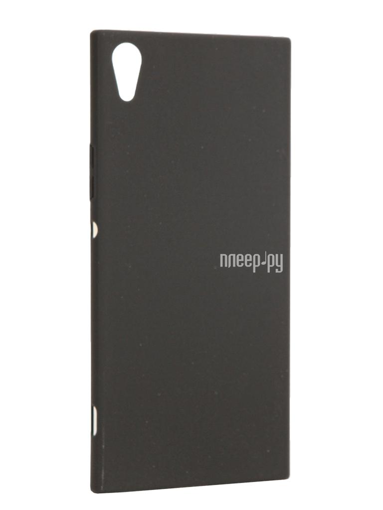 Аксессуар Чехол Sony Xperia XA1 Ultra BROSCO Black XA1U-4SIDE-ST-BLACK