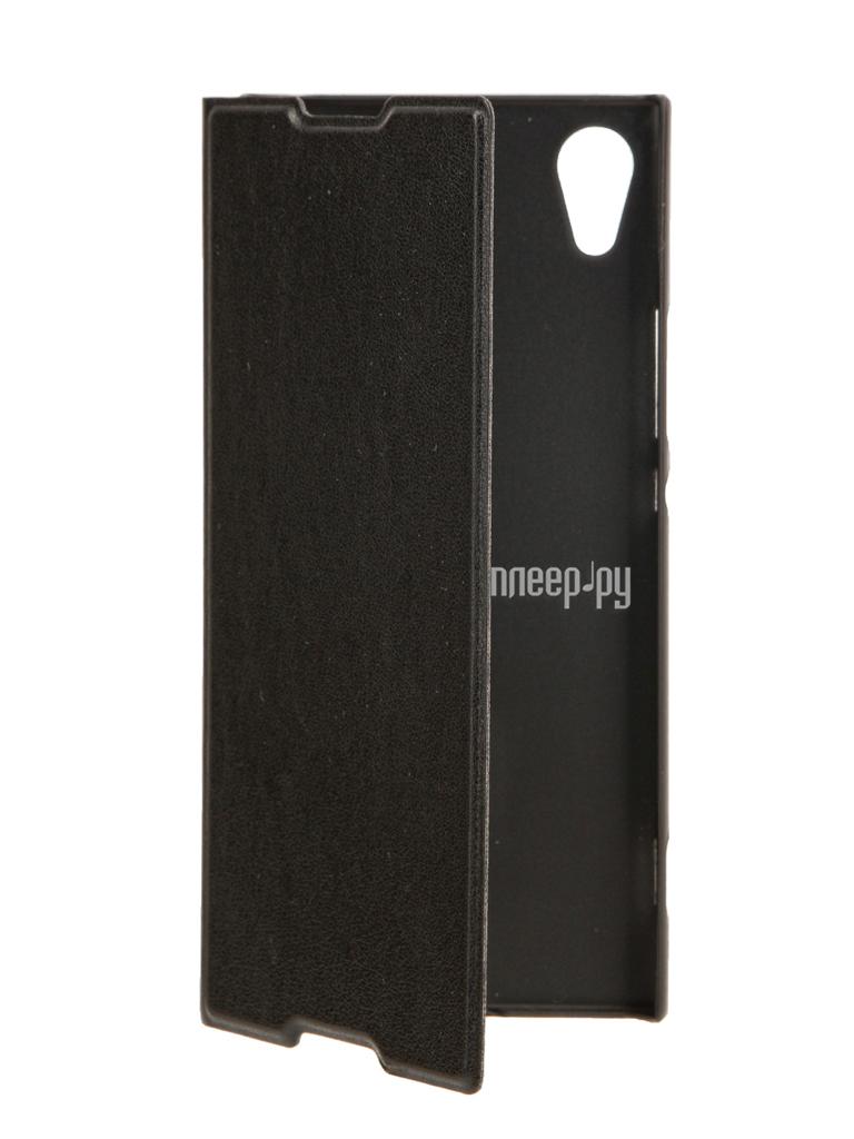 Аксессуар Чехол Sony Xperia XA1 BROSCO PU Black XA1-BOOK-BLACK