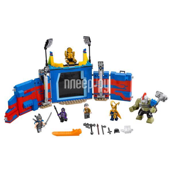 Конструктор Lego Super Heroes Тор против Халка Бой на арене 76088