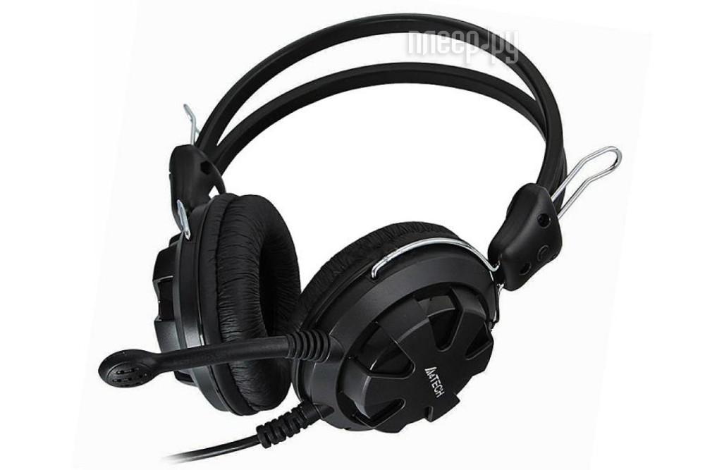 Гарнитура A4Tech HS-28 Black