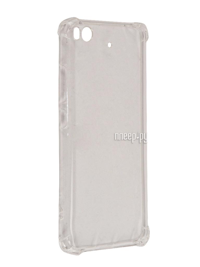 Аксессуар Чехол Xiaomi Mi5S Zibelino Ultra Thin Case Extra White