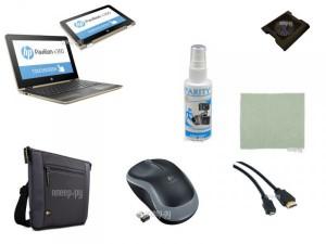Купить Ноутбук HP Pavilion x360 11-u014ur 1HF62EA Выгодный набор + подарок серт. 200Р!! (Intel Pentium N3710 1.6 GHz/4096Mb/500Gb/Intel HD Graphics/Wi-Fi/Bluetooth/Cam/11.6/1366x768/Touchscreen/Windows 10 64-bit)