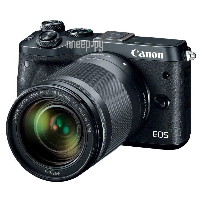 Фотоаппарат Canon EOS M6 Kit EF-M 18-150 IS STM Black