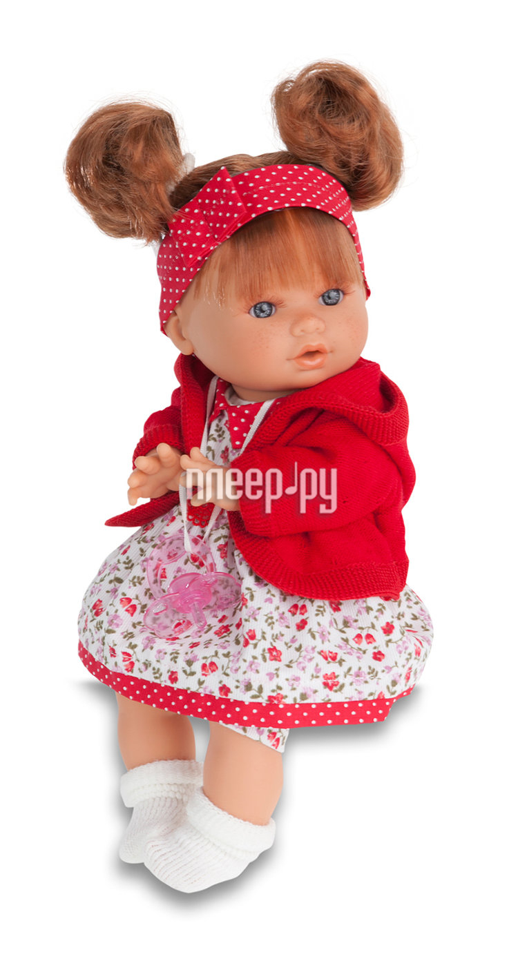 Кукла Antonio Juan Кукла Кристи Red 1337R