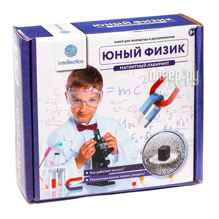 Набор для экспериментов Intellectico Юный физик Магнитный лабиринт 211