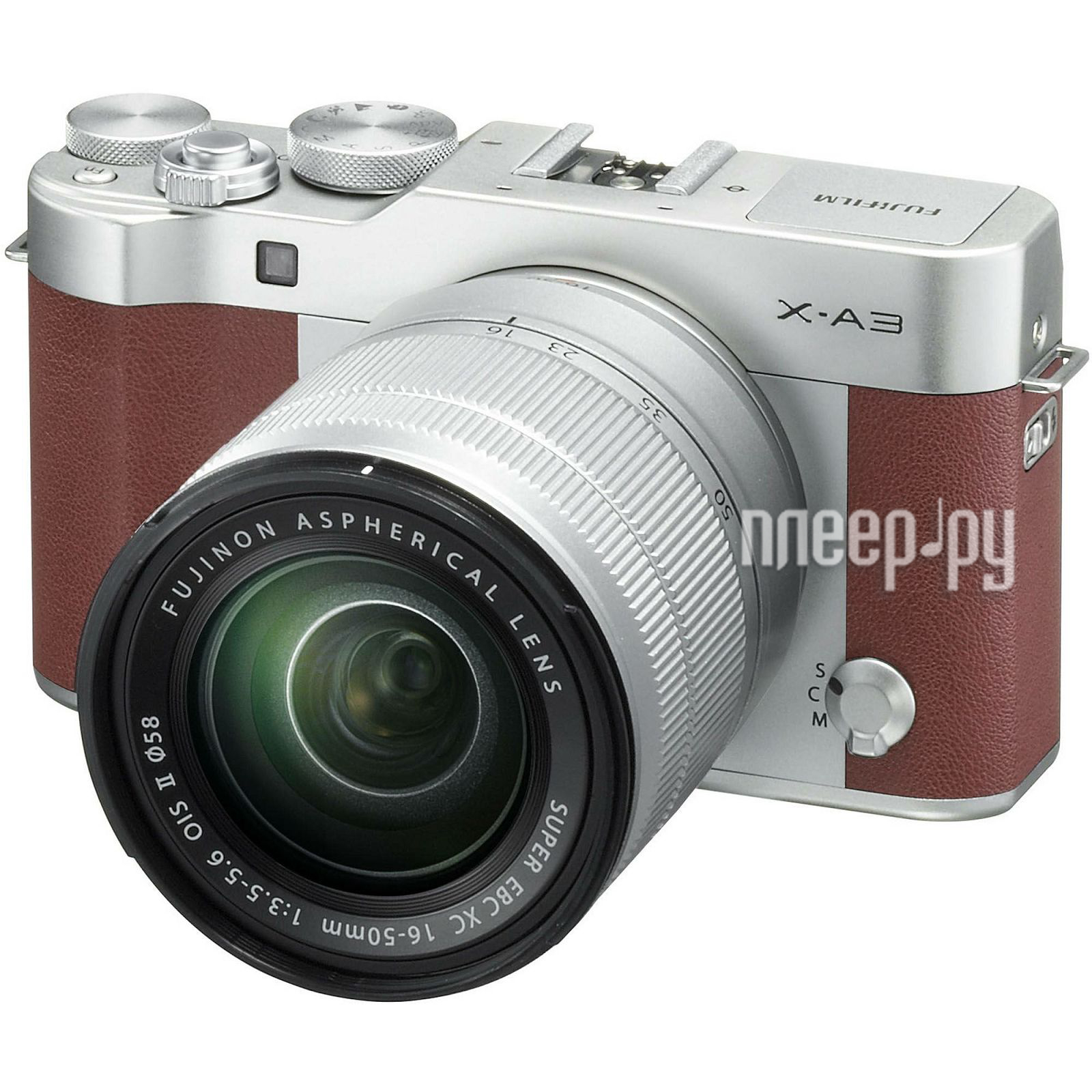 Фотоаппарат FujiFilm X-A3 Kit XC 16-50 mm F / 3.5-5.6 OIS II Brown