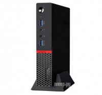Настольный компьютер Lenovo ThinkCentre M600 Tiny 10G9001MRU (Intel Pentium J3710 1.6 GHz/4096Mb/128Gb SSD/No ODD/Intel HD Graphics/Wi-Fi/Bluetooth/DOS)