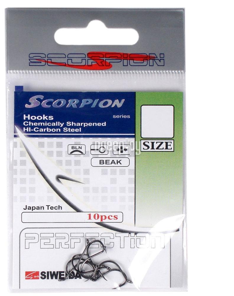 Крючки Siweida SWD Scorpion Beak №10 BN 10шт 3215110