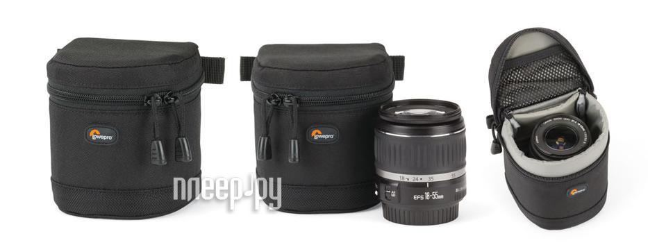 Футляр LowePro S&F Lens Case 9x9cm  Pleer.ru  977.000