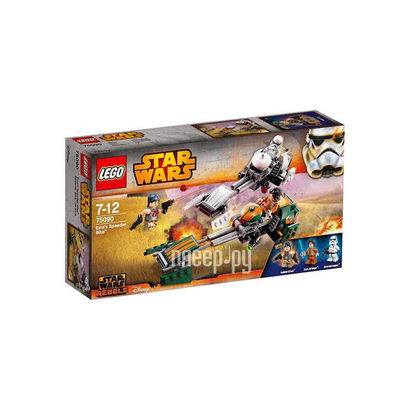 Конструктор Lego Star Wars Скоростной спидер Эзры Бриджера 75090