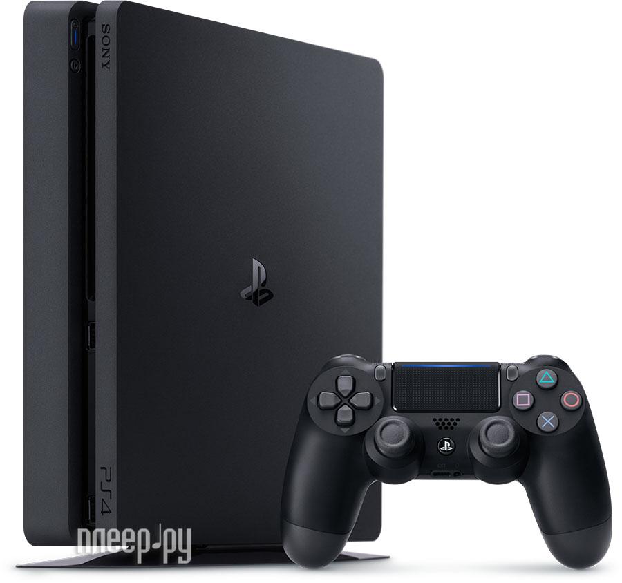 Игровая приставка Sony PlayStation 4 Slim 500Gb Black + Driveclub + Horizon Zero Dawn + Ratchet & Clank