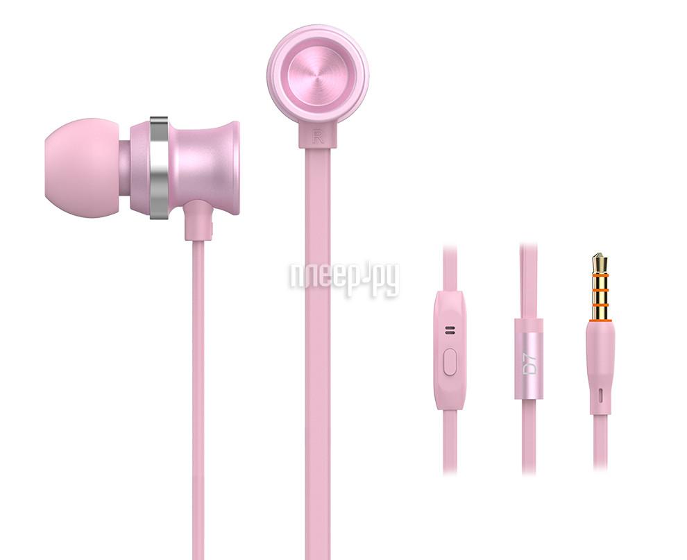 Гарнитура Yison D7 Pink