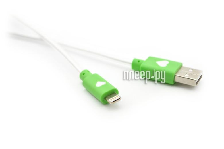 Аксессуар WIIIX USB-8 pin 1m Green CBL710-U8-10G