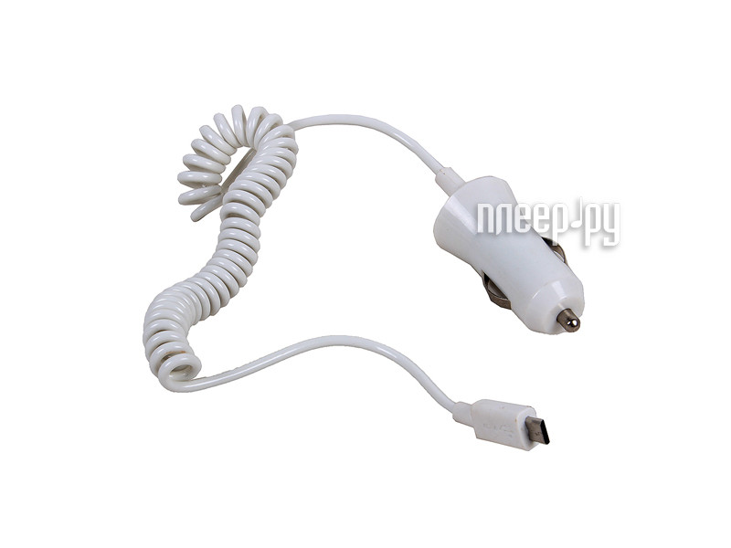 Зарядное устройство 3Cott 3C-CC-142AW-1USB-1MC White