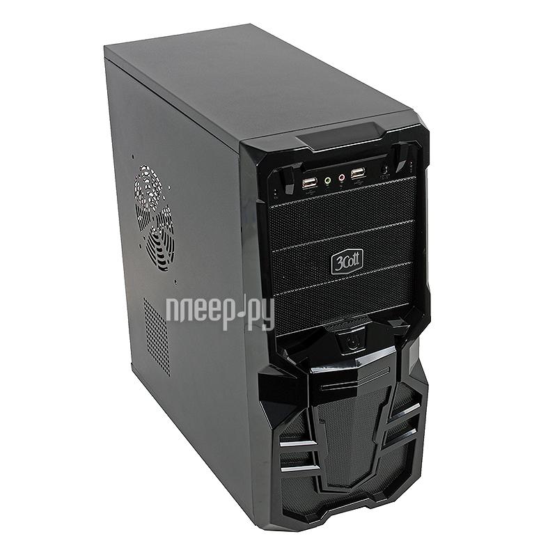 Корпус 3Cott 3C-ATX113G Goth 500W