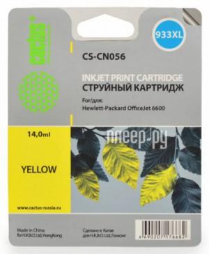 Купить Картридж Cactus (аналог HP CS-CN056) №933 Yellow для DJ 6600