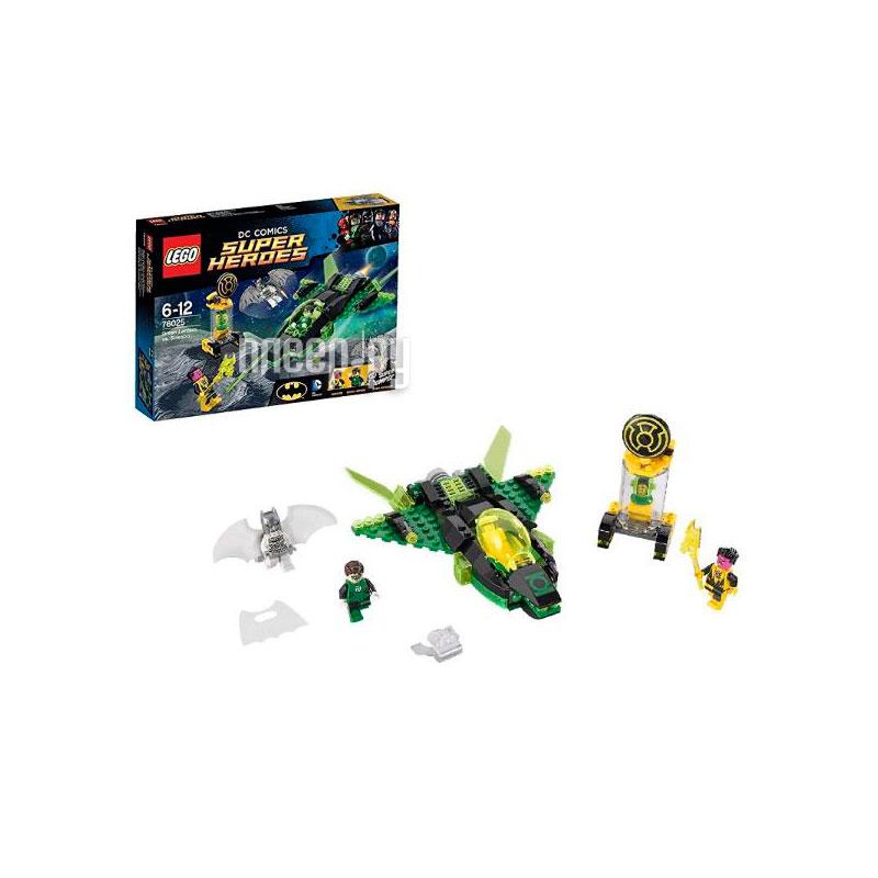 Конструктор Lego Super Heroes Зеленый Фонарь против Синестро 76025-L