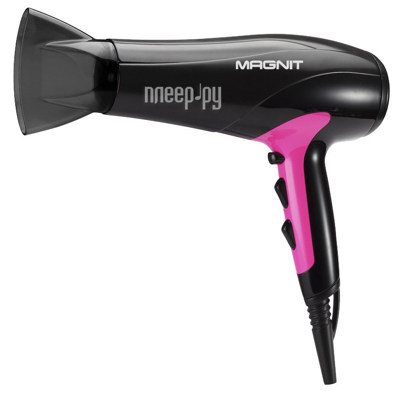 Фен Magnit RMH-1184 Black-Pink