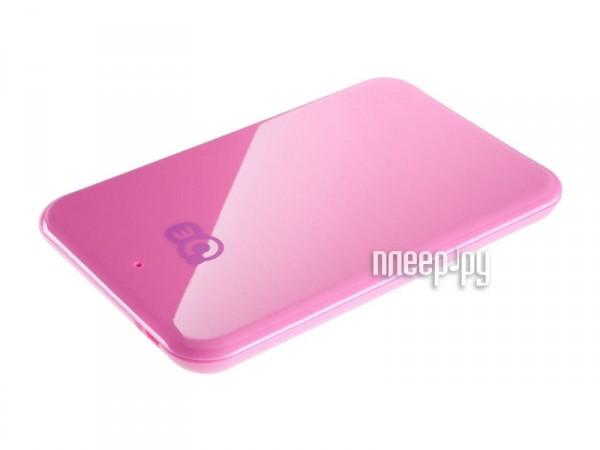Жесткий диск 3Q Palette 500Gb Pink 3QHDD-U265-PP500  Pleer.ru  1718.000