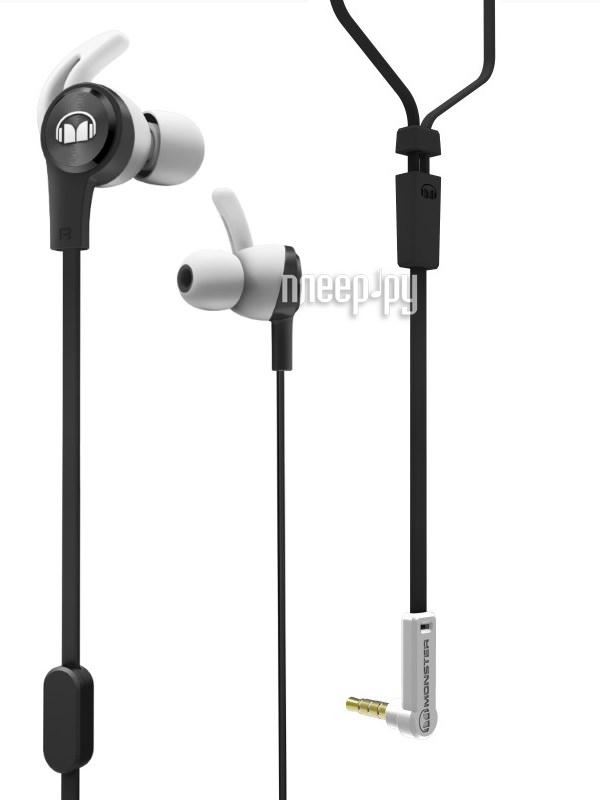 Гарнитура Monster iSport Achieve In-Ear Black 137092-00