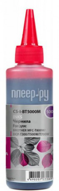 Тонер Cactus CS-I-BT5000M Magenta 100ml для Brother DCP-T300/T500W/T700W/MFC-T800W