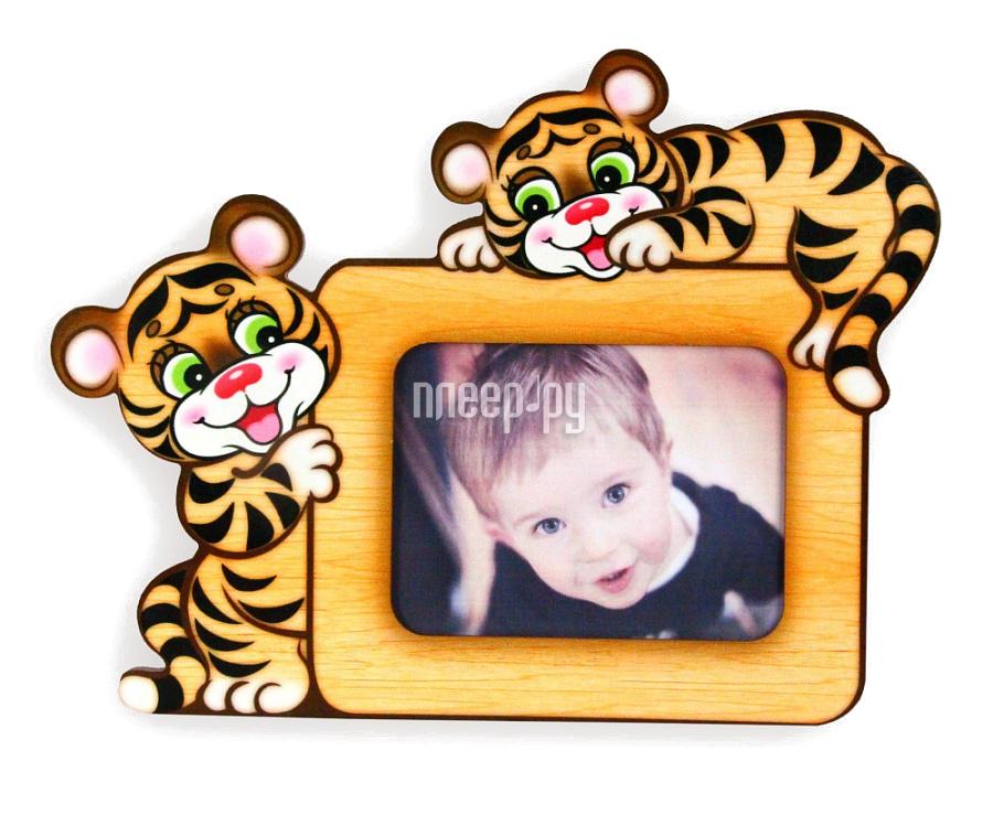 Рамка для фото Ларец Чудес Тигрята Л16ФР13