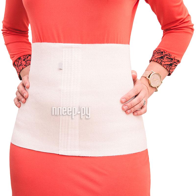 Ортопедическое изделие Smart Textile Пояс эластичный акриловый M White ST649