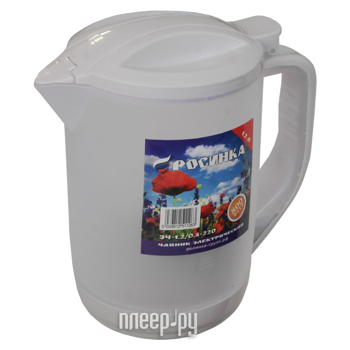 Чайник Росинка ЭЧ 1.2 / 0.8-220 White