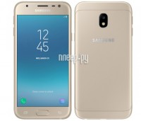 Сотовый телефон Samsung SM-J330F/DS Galaxy J3 (2017) Gold