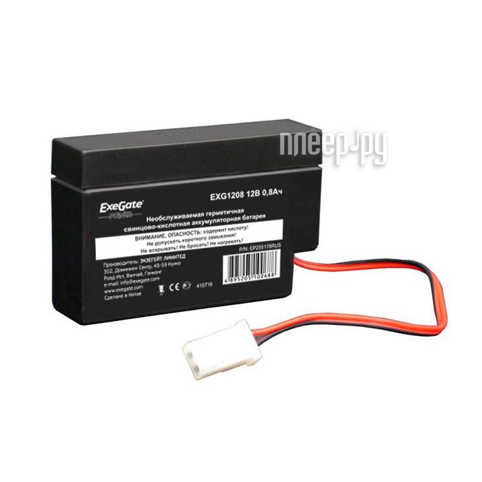Аккумулятор для ИБП ExeGate Power EXG1208 255178