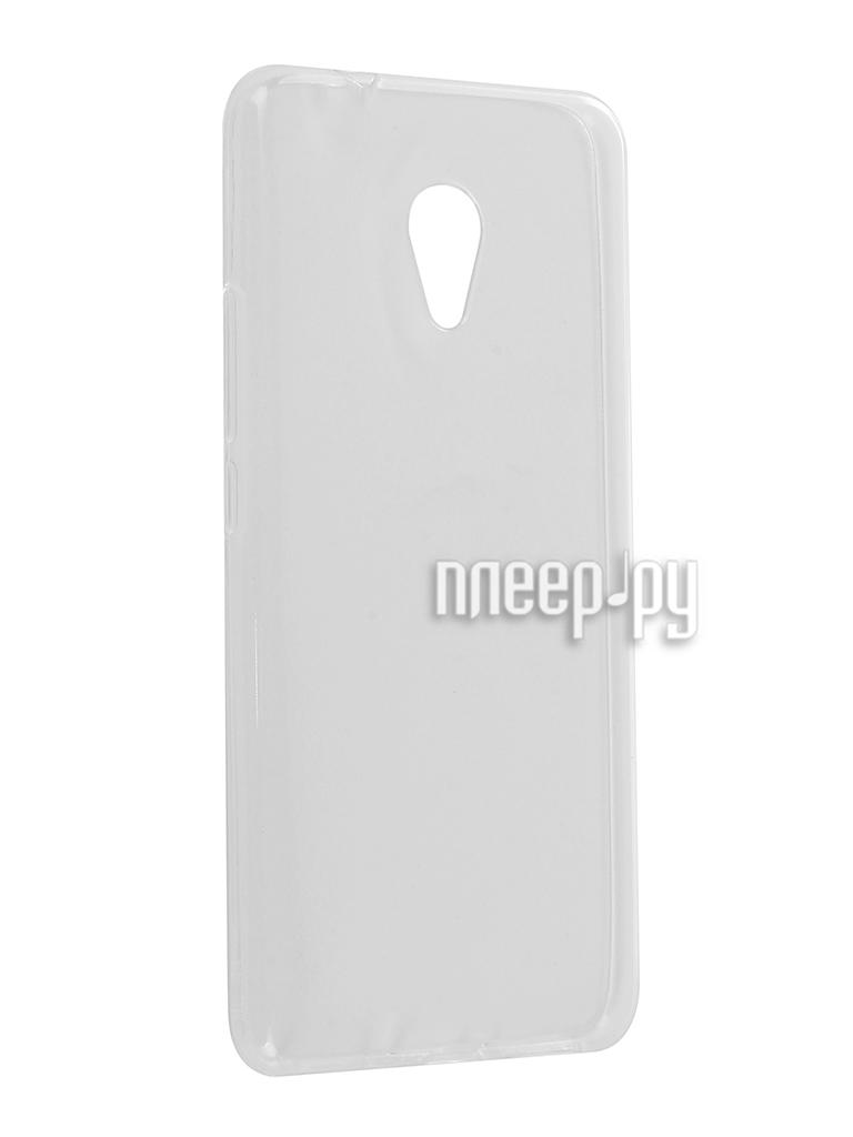 Аксессуар Чехол Meizu M5S Zibelino Ultra Thin Case White ZUTC-MZU-M5S-WHT