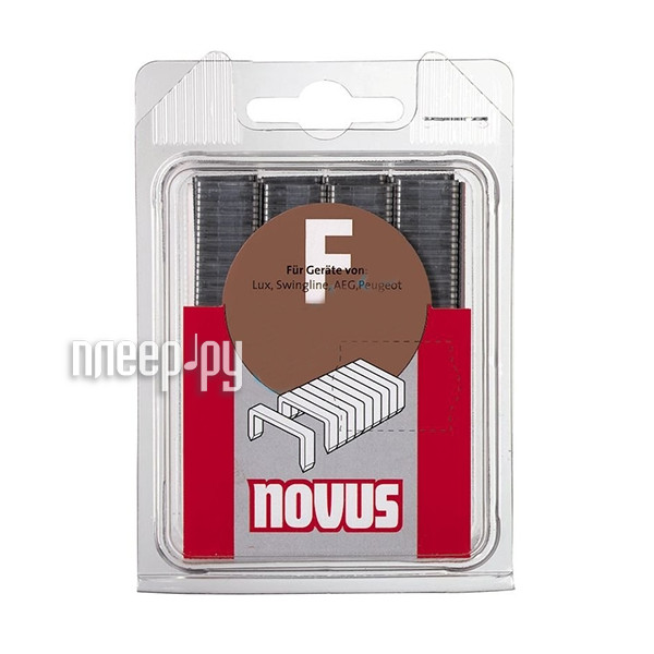 Скобы Novus NTF / 10 480шт