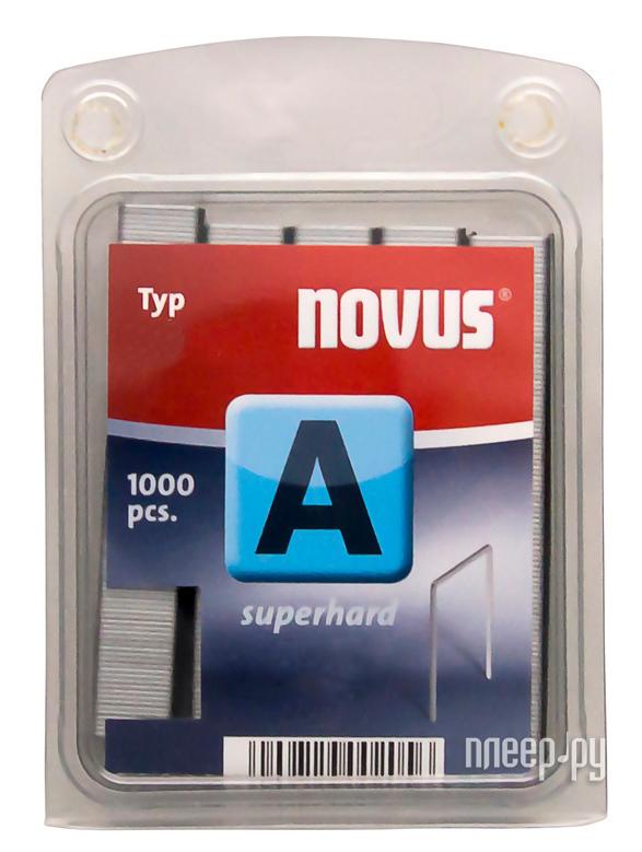 Скобы Novus 53 / 4 2000шт 042-0354