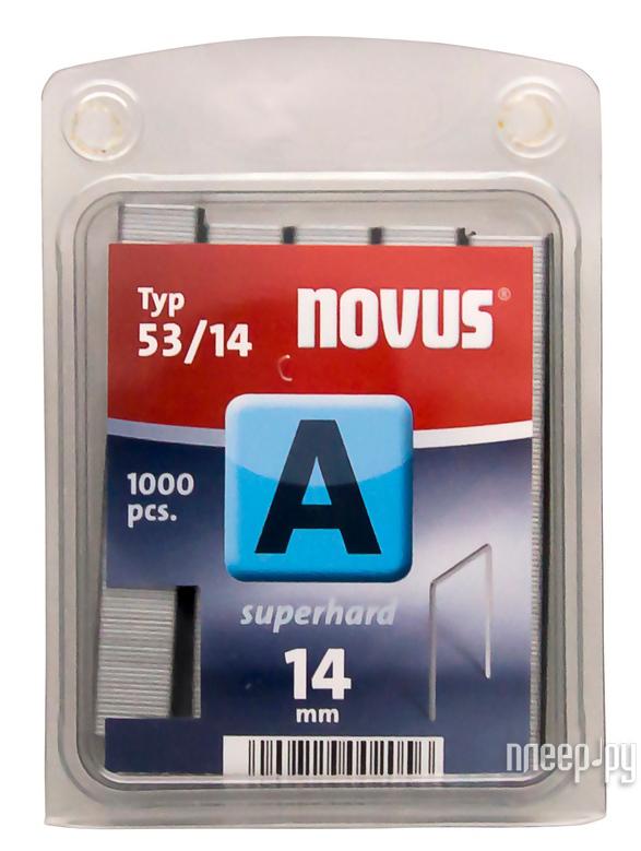 Скобы Novus 53 / 14S 1000шт 042-0359
