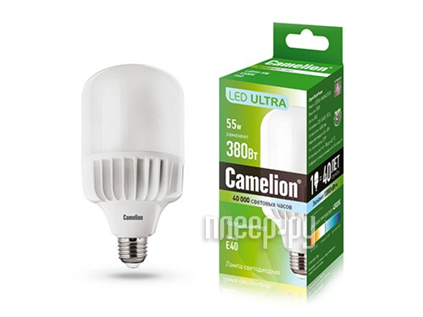 Лампочка Camelion 55W 220V E40 LED55-HW / 845 / E40