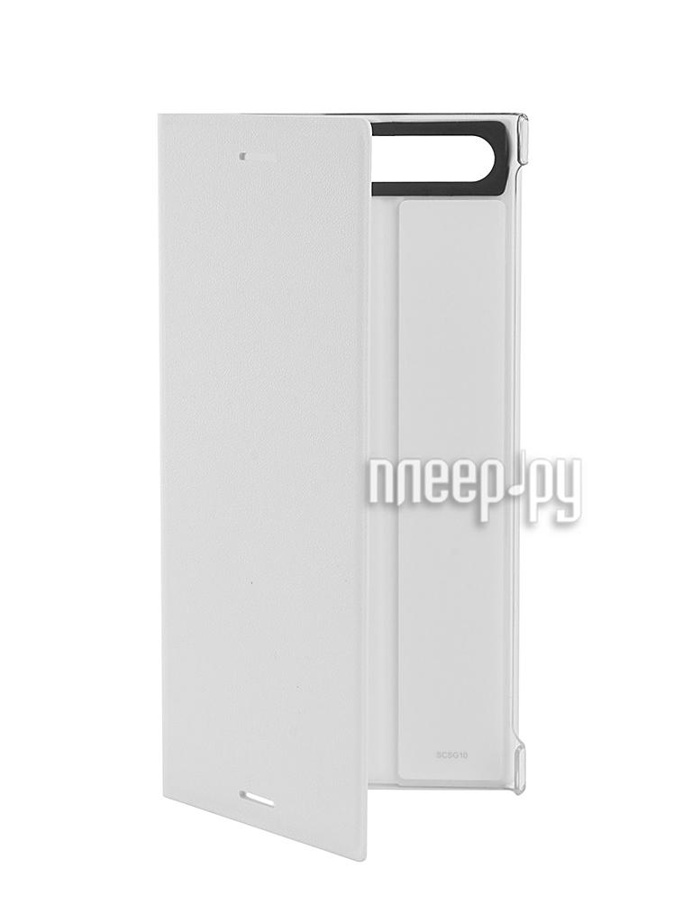Аксессуар Чехол Sony Xperia XZ Premium Style Cover Stand SCSG10 White