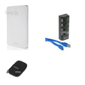 Купить Жесткий диск Toshiba Canvio Alu 2Tb Silver HDTH320ES3CA Выгодный набор + подарок серт. 200Р!!