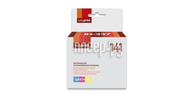Картридж EasyPrint IH-337 №141 Color для HP Deskjet D4263 / D4363 / D5360 / Officejet J5783 / J6413 / Photosmart C4273 / C4283 / C4343 / C4383 / C4473 / C4483 / C4583 / C5283 / D5363