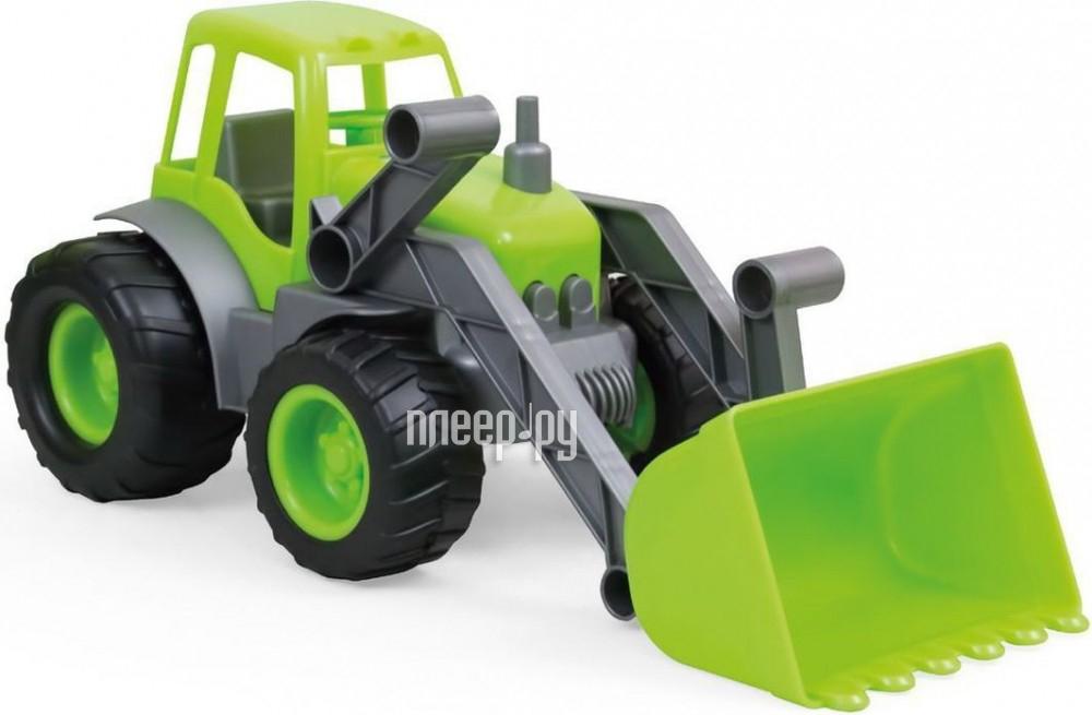 Машина Zebratoys Трактор с ковшом 15-10176