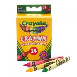 Купить Набор Crayola Разноцветные пастели 24шт 0024C