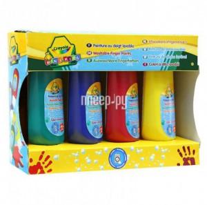 Купить Набор Crayola Смываемые краски 4шт 3239